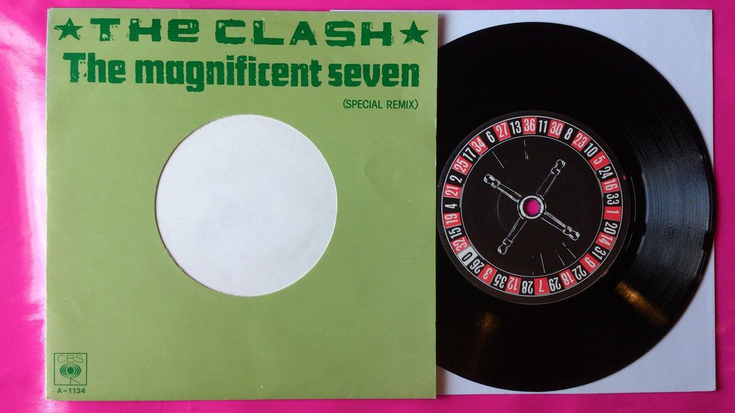 The Clash - Magnificent 7 Dutch Pressing On CBS From 1981