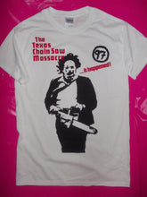 Load image into Gallery viewer, Texas Chainsaw Massacre T-Shirt as worn by Sid Vicious