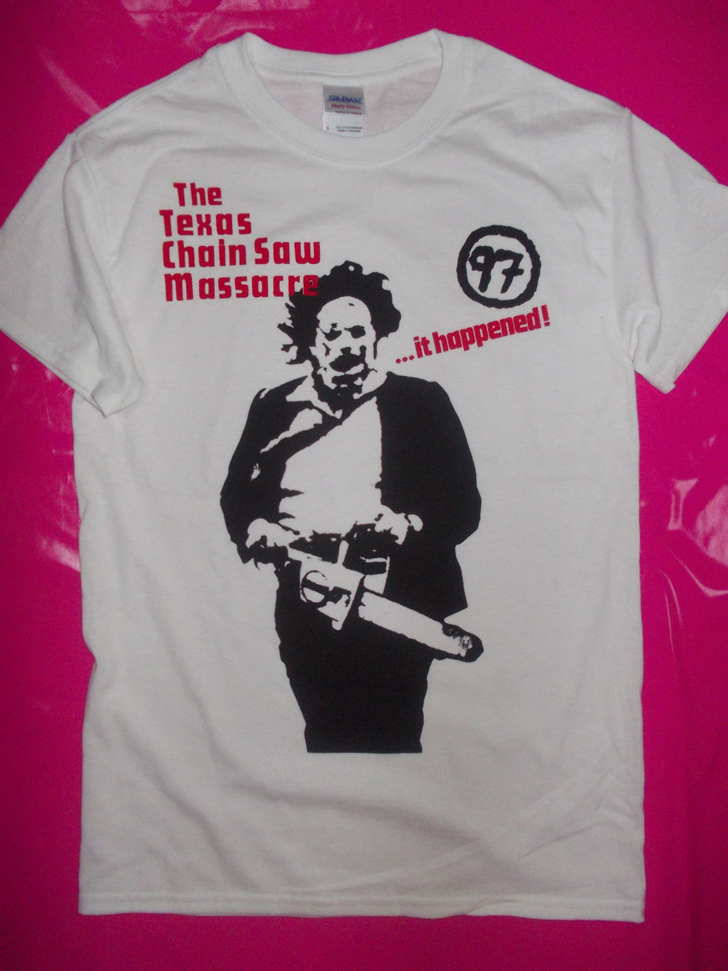 Texas Chainsaw Massacre T-Shirt as worn by Sid Vicious