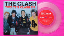 Load image into Gallery viewer, The Clash - Two 77's Clash Outtakes E.P. Clear Vinyl Single