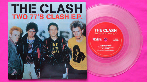 The Clash - Two 77's Clash Outtakes E.P. Clear Vinyl Single
