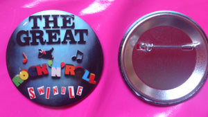 Sex Pistols - Rock 'N' Roll Swindle Reproduction Badge