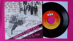 "The Clash - Complete Control 7"" Single Dutch Pressing From 1977"