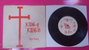 The Pack - King Of Kings / No.12 Vinyl Single on Rough Trade Records 1979