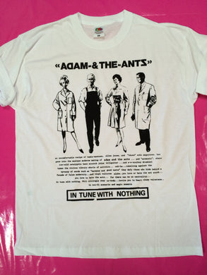 Adam & The Ants - In Tune With Nothing Punk Rock T-Shirt