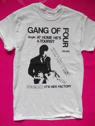 Gang Of Four - At Home He's A Tourist Post Punk T-Shirt
