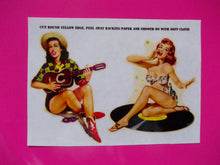 Load image into Gallery viewer, Steve Jones girls self adhesive guitar stickers