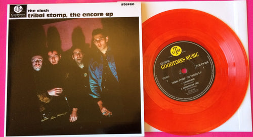 The Clash -Tribal Stomp The Encore EP Red Vinyl Single