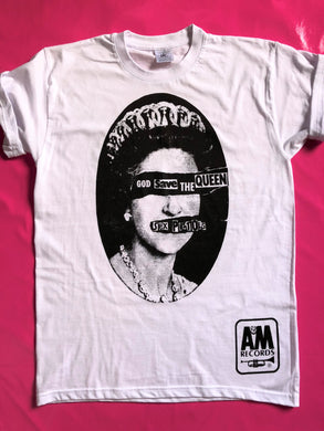 Sex Pistols - God Save The Queen T-Shirt       A & M Records Version