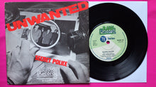 Load image into Gallery viewer, The Unwanted - Secret Police / These Boots... Rare Punk Single From 1978