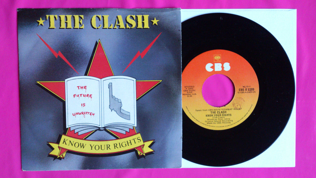 The Clash - Know Your Rights 7