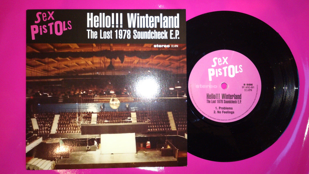 Sex Pistols - Hello Winterland The Lost Soundcheck EP