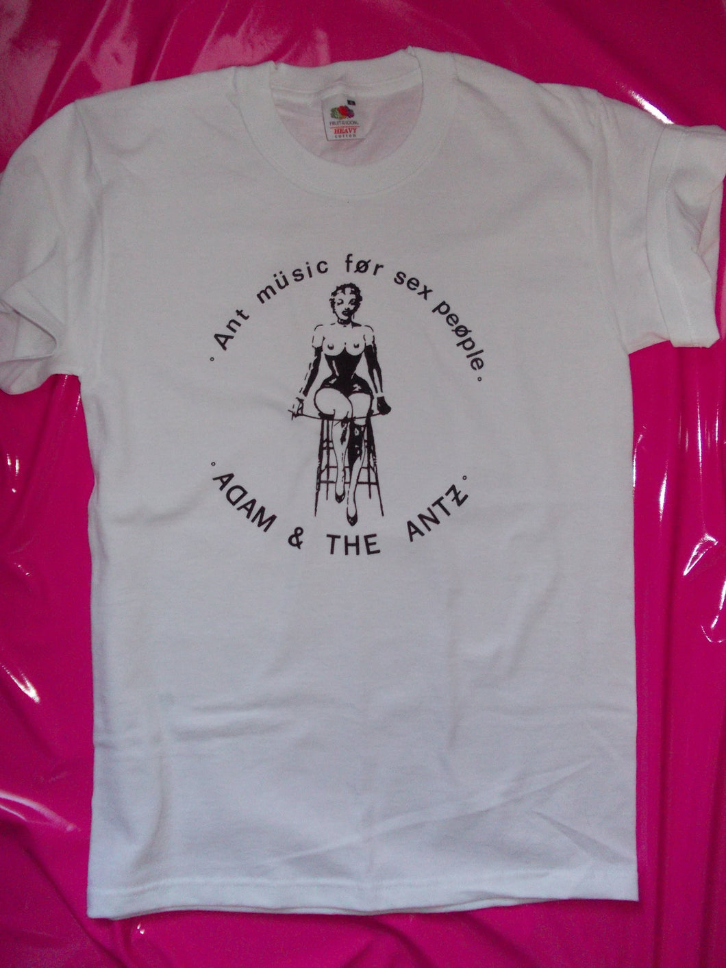Adam & The Ants - Ant Music For Sex People T-Shirt