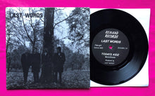 Load image into Gallery viewer, Last Words - Todays Kidz Rare Punk Single on Remand Records From 1979