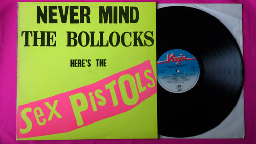 Sex Pistols - Never Mind The Bollocks LP Swedish/Scandinavian  Pressing