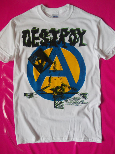 Destroy / Anarchy Seditionaries style punk rock T-Shirt