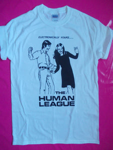 Human League - Electronically... Post Punk T- Shirt