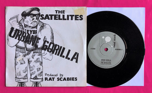 The Satellites - Urbane Gorilla 1980 Punk Single Rat Scabies Produced