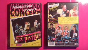 Sex Pistols - Winterland & Dallas 1978 Live DVD