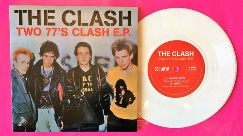 The Clash -Two 77's Clash E.P. Studio Outtakes White Vinyl