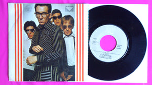 "Elvis Costello - Watching The Detectives 7"" Norway Press"