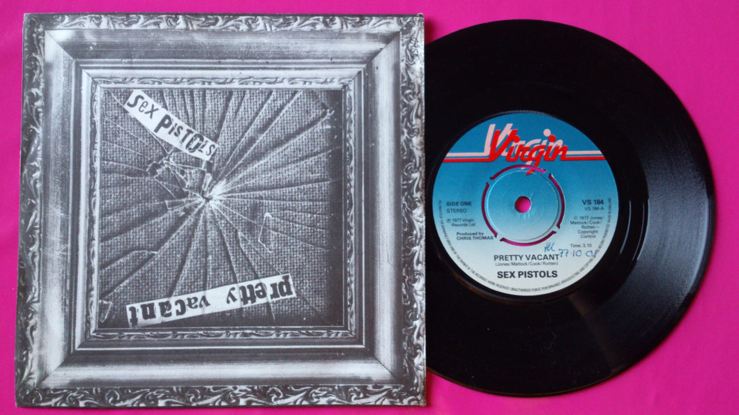 Sex Pistols - Pretty Vacant Push Out Centre Pressing 1977