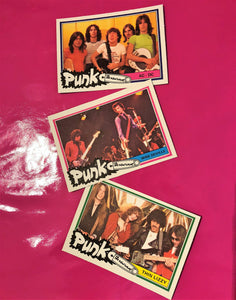 Punk And New Wave Collector Cards By Monty Of Holland