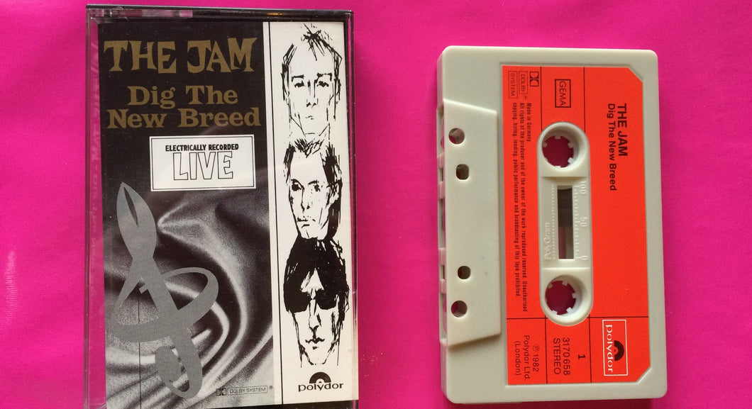 The Jam - Dig The New Breed Original Cassette Tape German Version