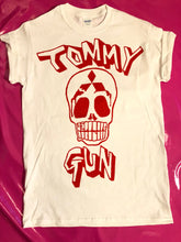 Load image into Gallery viewer, The Clash - Tommy Gun Skull Print Punk Rock T-Shirt