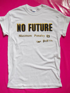 Sex Pistols - No future Maximum Penalty Punk T-Shirt