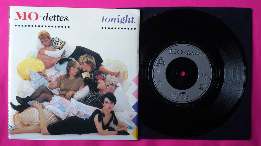 Mo-dettes - Tonight / Waltz In Blue Minor Post Punk Single From 1981