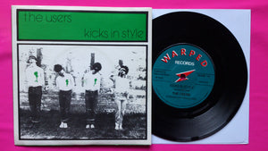 The Users - Kicks In Style / Dead On Arrival Rare Punk Single From 1978