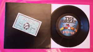 "Sex Pistols - Rock 'n' Roll Swindle 7"" Single with Amex Lawyers Message"