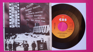 The Clash - Remote Control Dutch Pressing on CBS From 1977
