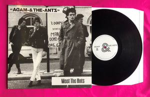 Adam & The Ants - Meet The Ants Unofficial LP 1978 Demo Collection