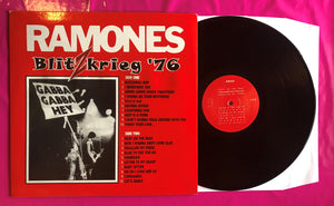 The Ramones - Blitkrieg '76 Live Unofficial LP Recorded in ...1976