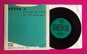 "Delta 5 - Mind Your Own Business 1979 Post Punk 7"" Single on Rough Trade"