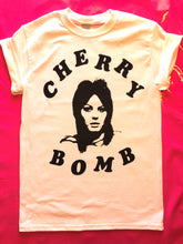 Load image into Gallery viewer, Joan Jett / Runaways - Cherry Bomb Punk Rock Cotton T-Shirt