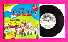 "Load image into Gallery viewer, Drug Addix - Make a Record 4 Track 7"" E.P. on Chiswick Records 1978"