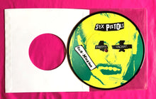 Load image into Gallery viewer, Sex Pistols - Pretty Vacant Picture Disc of U.S. Picture Sleeve Limited Edition