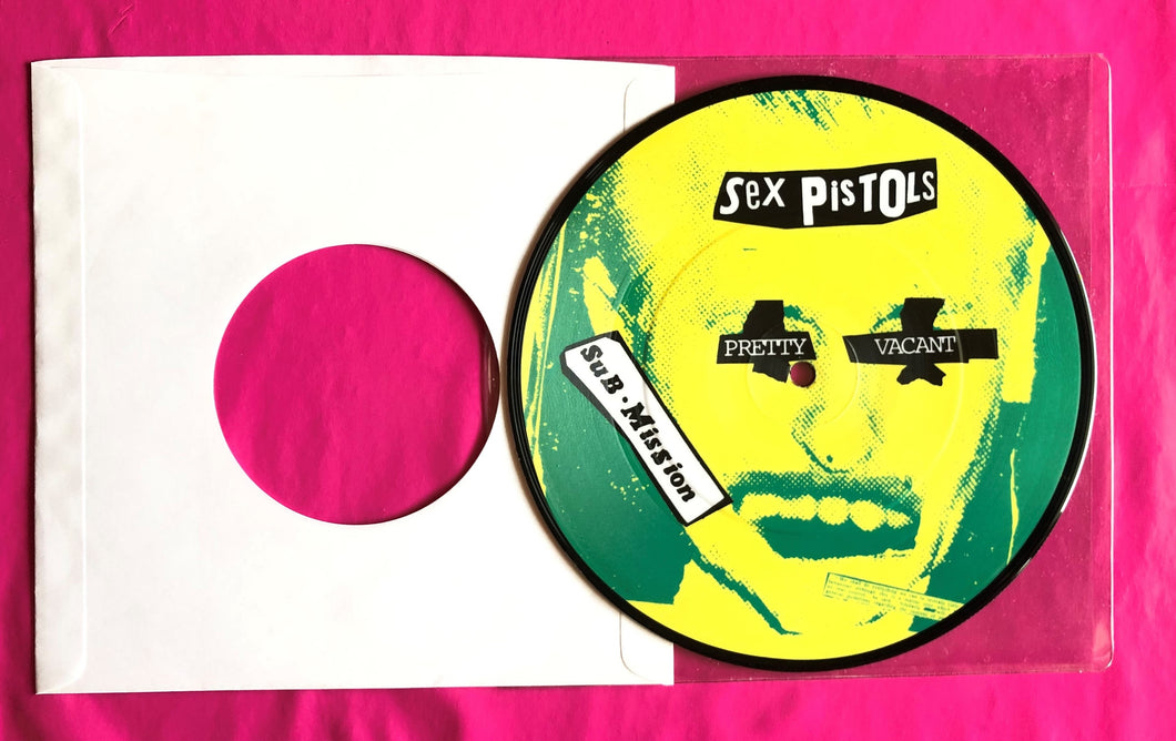 Sex Pistols - Pretty Vacant Picture Disc of U.S. Picture Sleeve Limited Edition