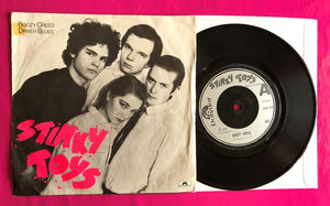 "Stinky Toys - Boozy Creed / Driver Blues 7"" Punk Single on Polydor From 1977"