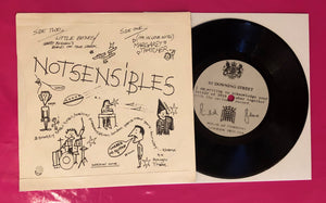 Notsensibles - I'm in Love With Margaret Thatcher 2nd Press on Snotty Snail 1979
