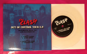 The Clash - Out of Control Tour E.P. Clear Vinyl Live in Manchester 1977