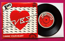 "Load image into Gallery viewer, Subs - Gimme Your Heart / Party Clothes 7"" Punk Vinyl Stiff Records 78"