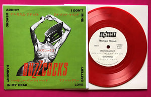 Buzzcocks - 4 Track 'Japanese' Fantasy EP Orgasm Addict + 3 Red Vinyl