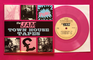 "The Jam - Town House Tapes 7"" Single EP on Pink Vinyl"
