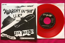 Load image into Gallery viewer, Sex Pistols - Anarchy in the UK French Vinyl Single Repro in 4 Colours