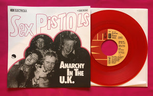 Sex Pistols - Anarchy in the UK German Vinyl Single Repro in 4 Colours