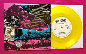 "Sex Pistols - Submission / No Feelings Yellow Vinyl 7"" on Chaos Records 1984"